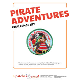 Pirate, pirate recipes, pirate games, pirate crafts, pirate puzzles, pirate code, pirate information, knots, Blackbeard, Calico Jack, Anne Bonny, Mary Read, Henry Morgan, pirate ship, compass, Challenge Kit, Meeting Plan, Idea, Girl Guides, Girl Scouts, Program,