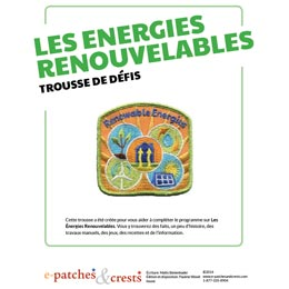 Les, Energies, Renouvelable, Renewable, Energy, Recycle, Wind, Hydro, French, français, Meeting, Idea, Program Kit, Challenge Kit, Program Planning, Meeting Ideas, Girl Guides, Girl Scouts, Girl Scout Activities,