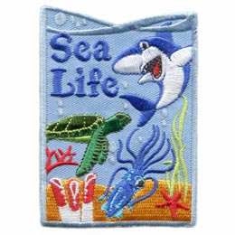Sea Life, Sea, Meeting Plan, Program Kit, Challenge Kit, Program Planning, Meeting Ideas, Girl Guides, Girl Scouts, Girl Scout Activities, Girls Program, Girl Scout Patch, Girl Scout Camps, Camp Ideas