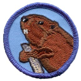 Patrol, Badge, Beaver, Canada, Scout, Embroidered Patch, Merit Badge, Badge, Emblem, Iron On, Iron-On, Crest, Lapel Pin, Insignia, Girl Scouts, Boy Scouts, Girl Guides