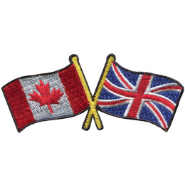Canada UK Friendship Flag