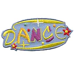 Dance, Star, Sport, Fitness, Crest, Patch, Merit Badge