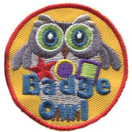 Badge, Owl, Set, Leader, Who, Hoot, Patch, Embroidered Patch, Merit Badge, Badge, Emblem, Iron-On, Iron On, Crest, Lapel Pin, Insignia, Girl Scouts, Boy Scouts, Girl Guides