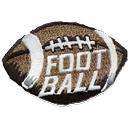 Football, Sports, Referee, Coach, Uniform, Team, Patch, Embroidered Patch, Crest, Merit Badge, Boy Scouts, Girl Scouts, Girl Guides