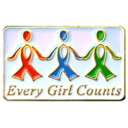 Girl, Count, Thank You, Thanks, Award, Patch, Embroidered Patch, Merit Badge, Badge, Emblem, Iron On, Iron-On, Crest, Lapel Pins, Girl Scouts, Boy Sco